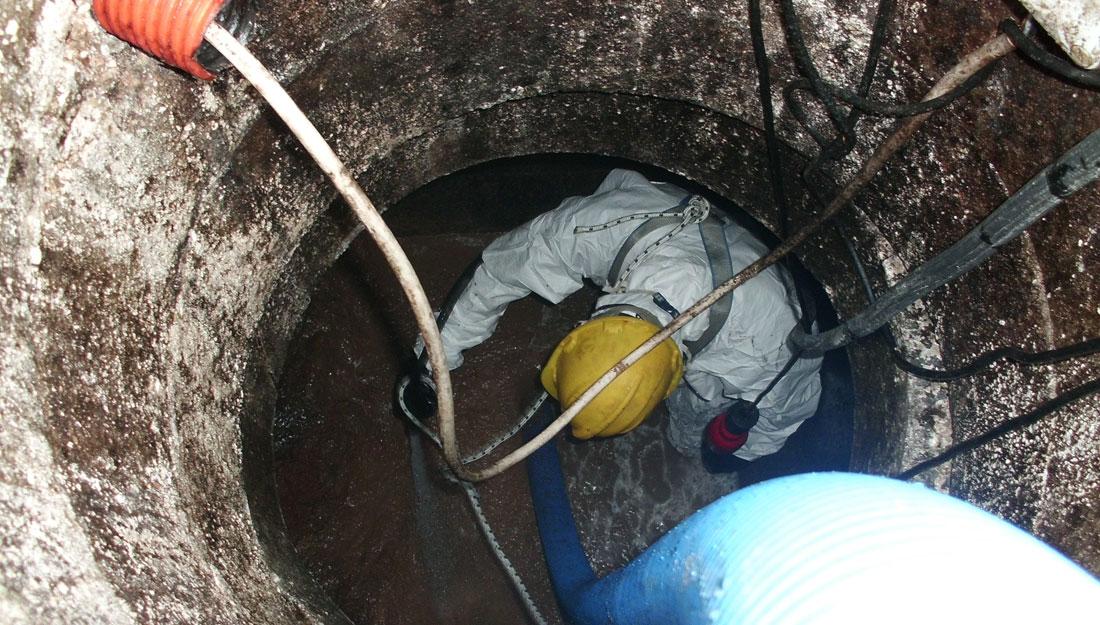 Pulizia cisterne gasolio con bonifica
